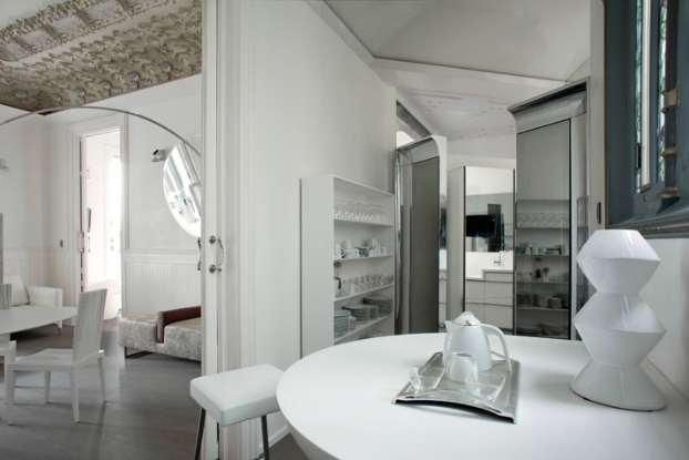 old architecture along with contemporary interior design 8