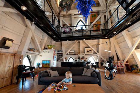 penthouse Seattle's Tower interior design ideas