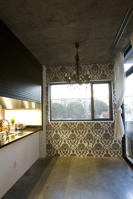 Vintage Modern Loft kitchen 2