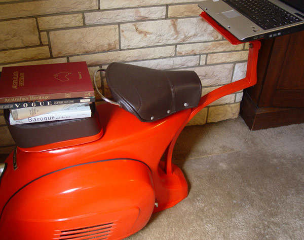 A 1968 Vespa – A Functional Work Station 3