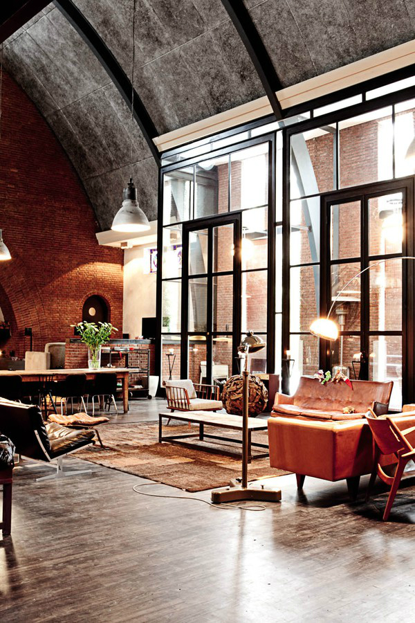 Beautiful living room House in Amsterdam