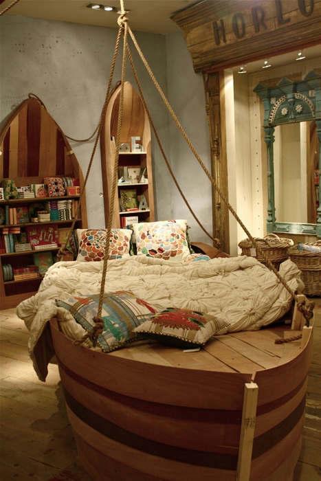 Beds Designed Like a Boat 7