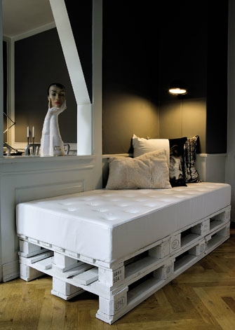 Beds Made by Pallets