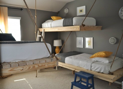 Beds Made by Pallets 6