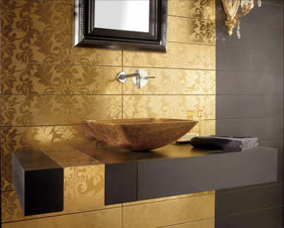 Charmant Luxury Black And Gold Bathrooms