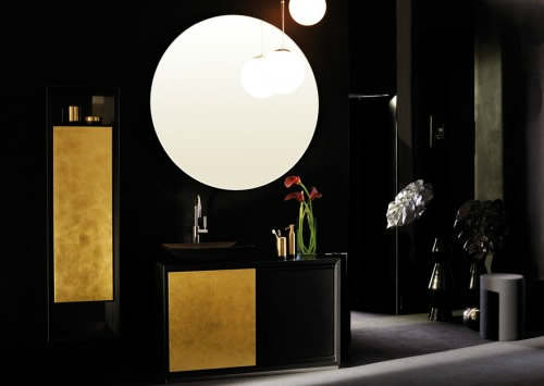 Luxury Black and Gold Bathrooms 3