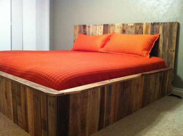 Beds Made by Pallets 8