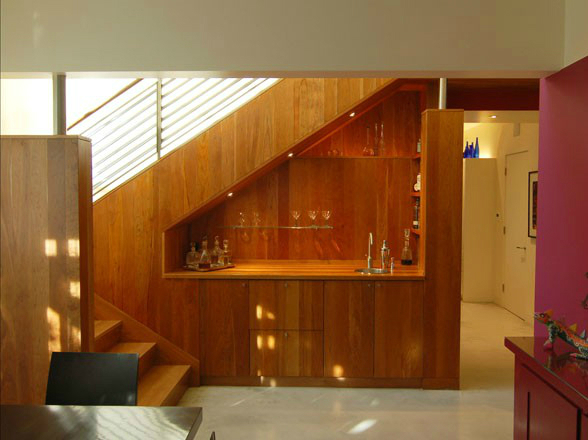 Tips for the space under the stairs decoholic for Kitchen designs under stairs