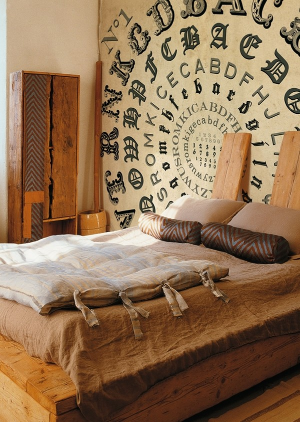 cool wall decoration idea for bedrooms