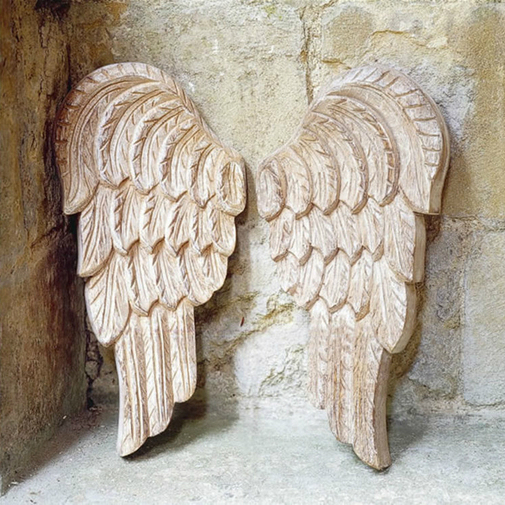 decorating-carved-angel-wings