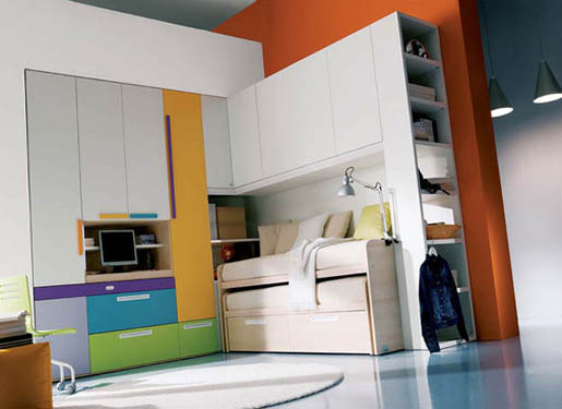 colorful interior design ideas for teenage girl's rooms