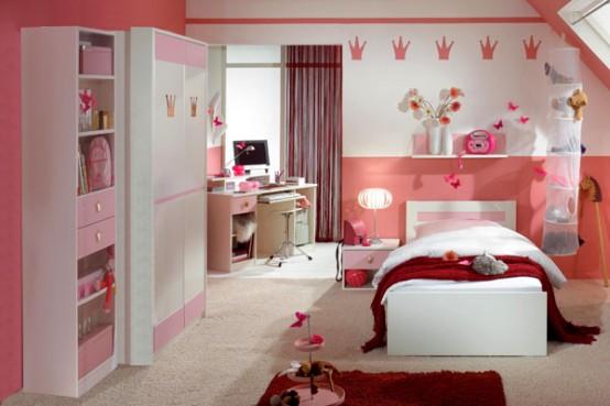 30 Dream Interior Design Ideas for Teenage Girl's Rooms on Teenage Room Design Girl  id=23980