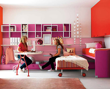30 dream interior design ideas for teenage girl 39 s rooms - Awesome bedrooms for teenage girls ...