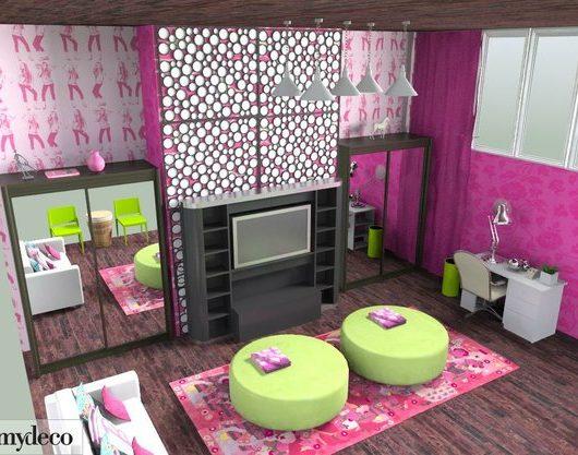 dream interior design ideas for teenage girls room