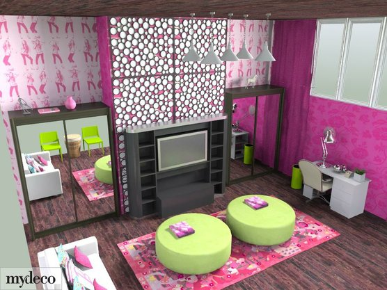 Attractive Dream Interior Design Ideas For Teenage Girls Room