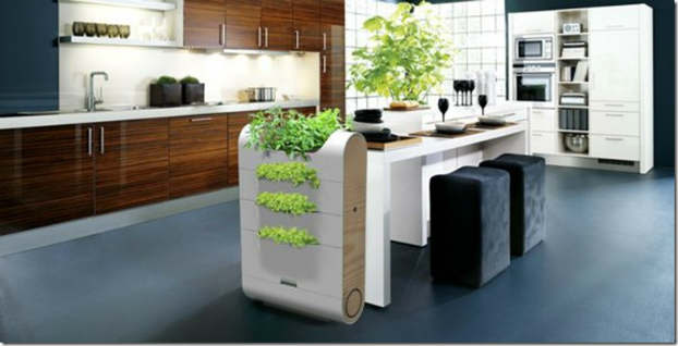 5 eco organic kitchen designs decoholic. Black Bedroom Furniture Sets. Home Design Ideas
