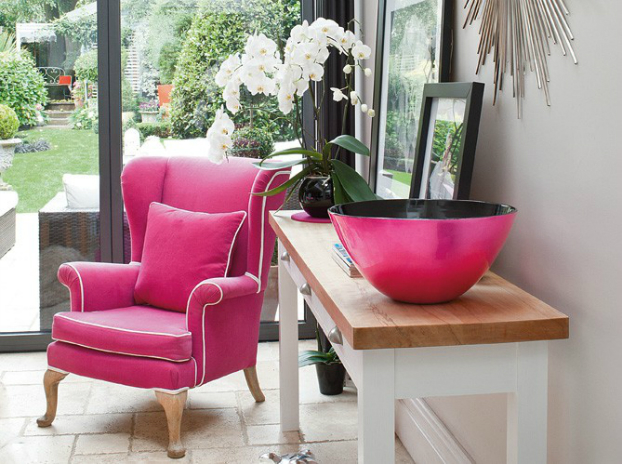 Feminine Fresh House in London interior design ideas 2