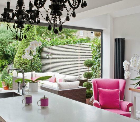 Feminine Fresh House in London interior design ideas