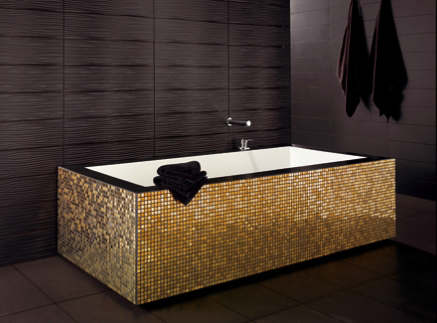 Luxury Black and Gold Bathrooms 5