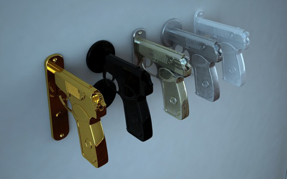 Pistol Door Handle by Nikita Kovalev 2