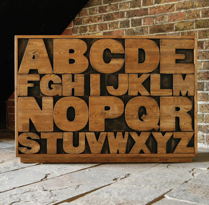 Alphabet Chest of Drawers by Kent and London