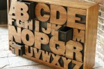 Alphabet Chest of Drawers by Kent and London 1