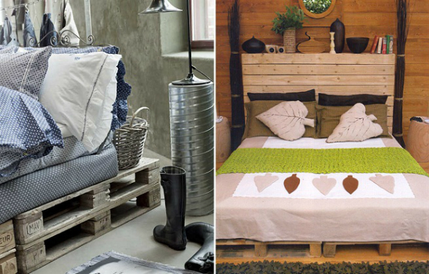 Beds Made by Pallets 10