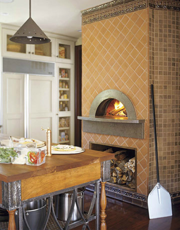 Kitchens With Oven Fireplace Decoholic