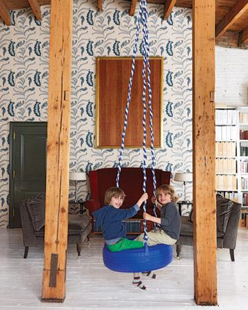 indoor swing chair 17