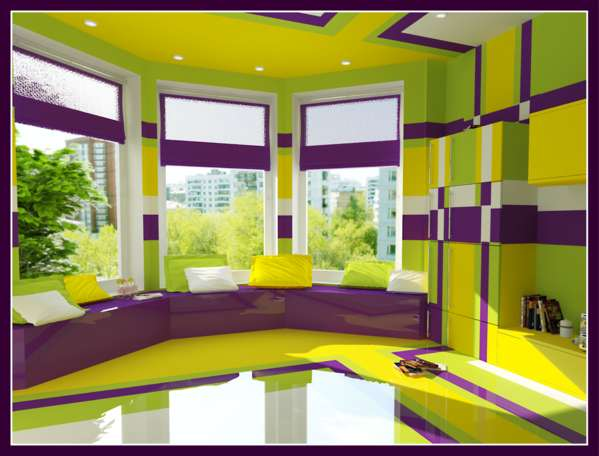 lime and purple bedroom 3