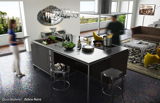 Luxury kitchens design by toyo kitchen decoholic for Modern japanese kitchen design by toyo kitchen