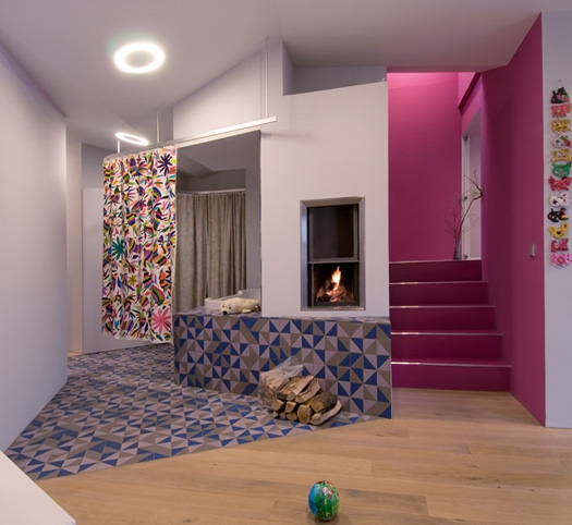 Modern Colorful Aparment 3