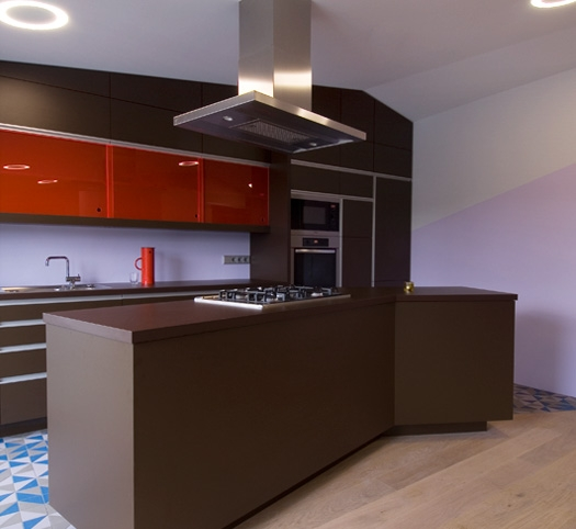 Modern Colorful Aparment 6