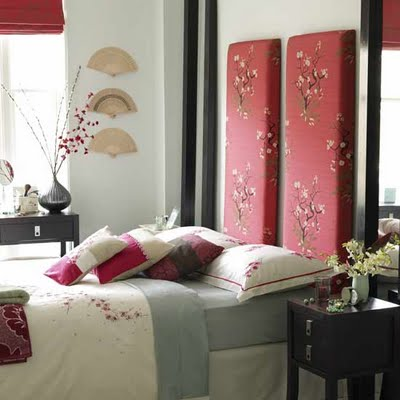 asian floral pants bedroom wall decor