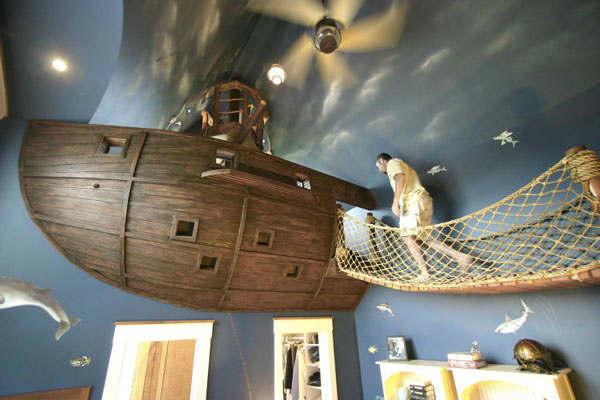 Beds Designed Like a Boat 9