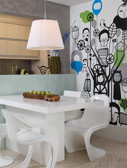 Modern Interior Design of Small Apartment by Carla Basich 2