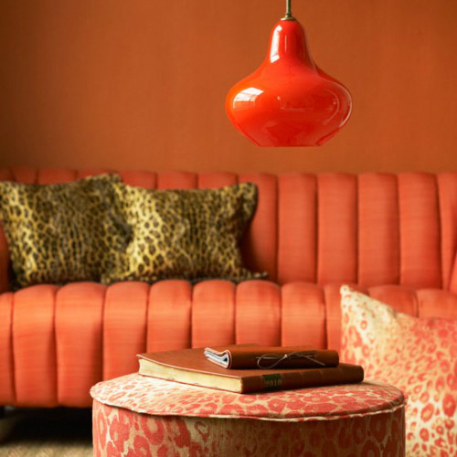 tangerine living room 18