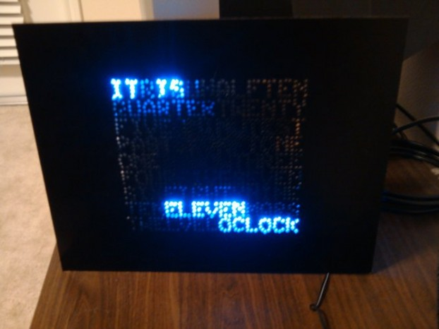 Unusual vinyl Clock 4
