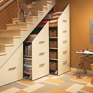 ideas for the Space Under the Stairs 11