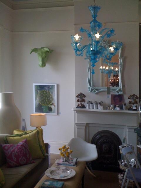 Turquoise Chandeliers 1