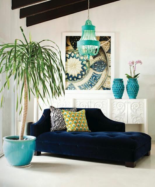 Turquoise Chandeliers 4