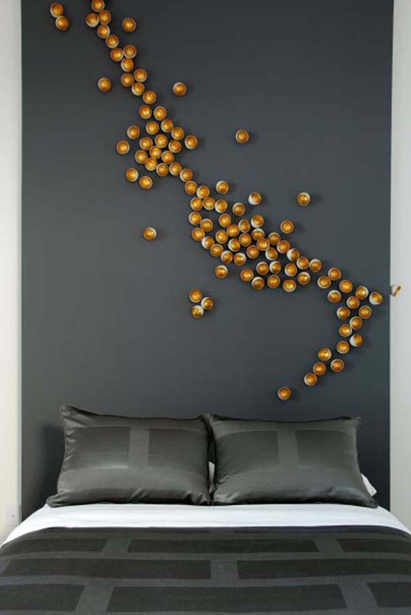 Unique Bedroom Wall Decoration