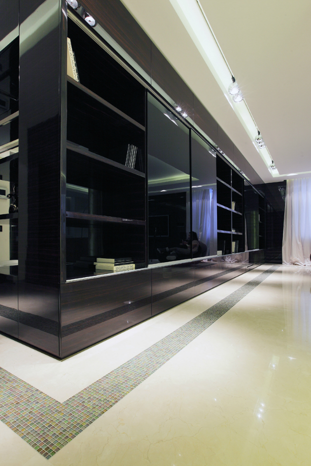 Ultra Modern House interior design by Geometrix