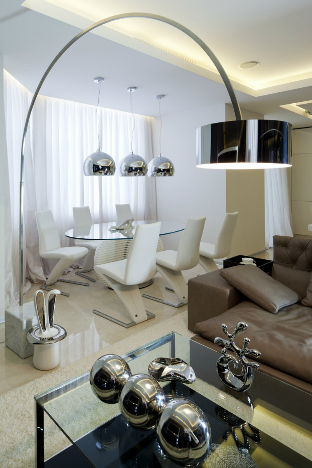 Ultra Modern House interior design by Geometrix 7
