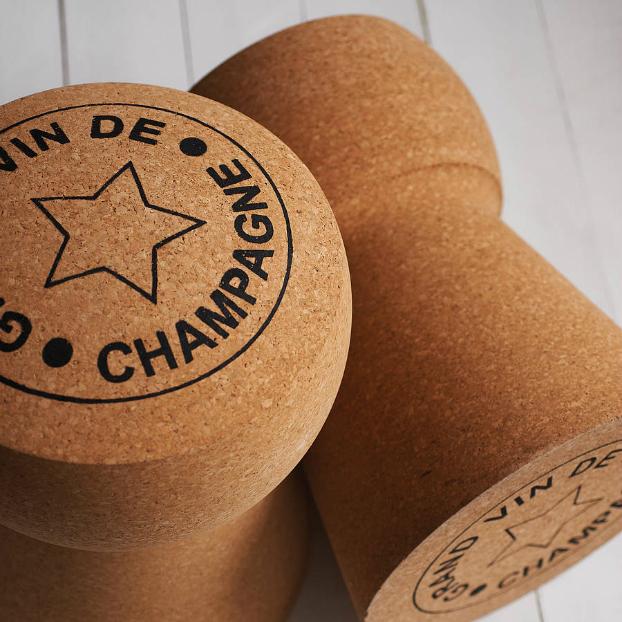 Champagne Cork Stool 2