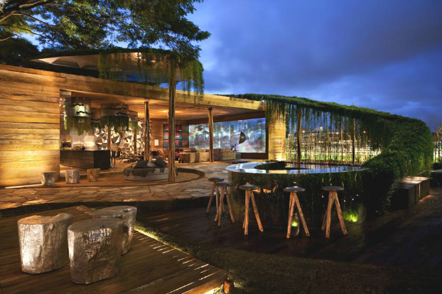 Awesome luxury loft in brazil by fernanda marques decoholic - Maison contemporaine exotique fernanda marques ...