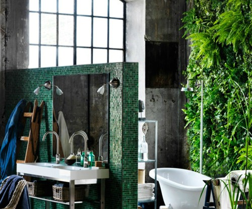 Bathroom with Plants 13