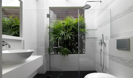 15 Inspired by Nature Bathrooms with Plants | Decoholic