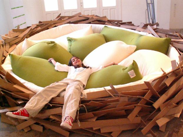 Birdnest Bed 3