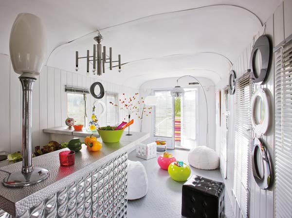 Nice Bohemian Trailer Interior Design
